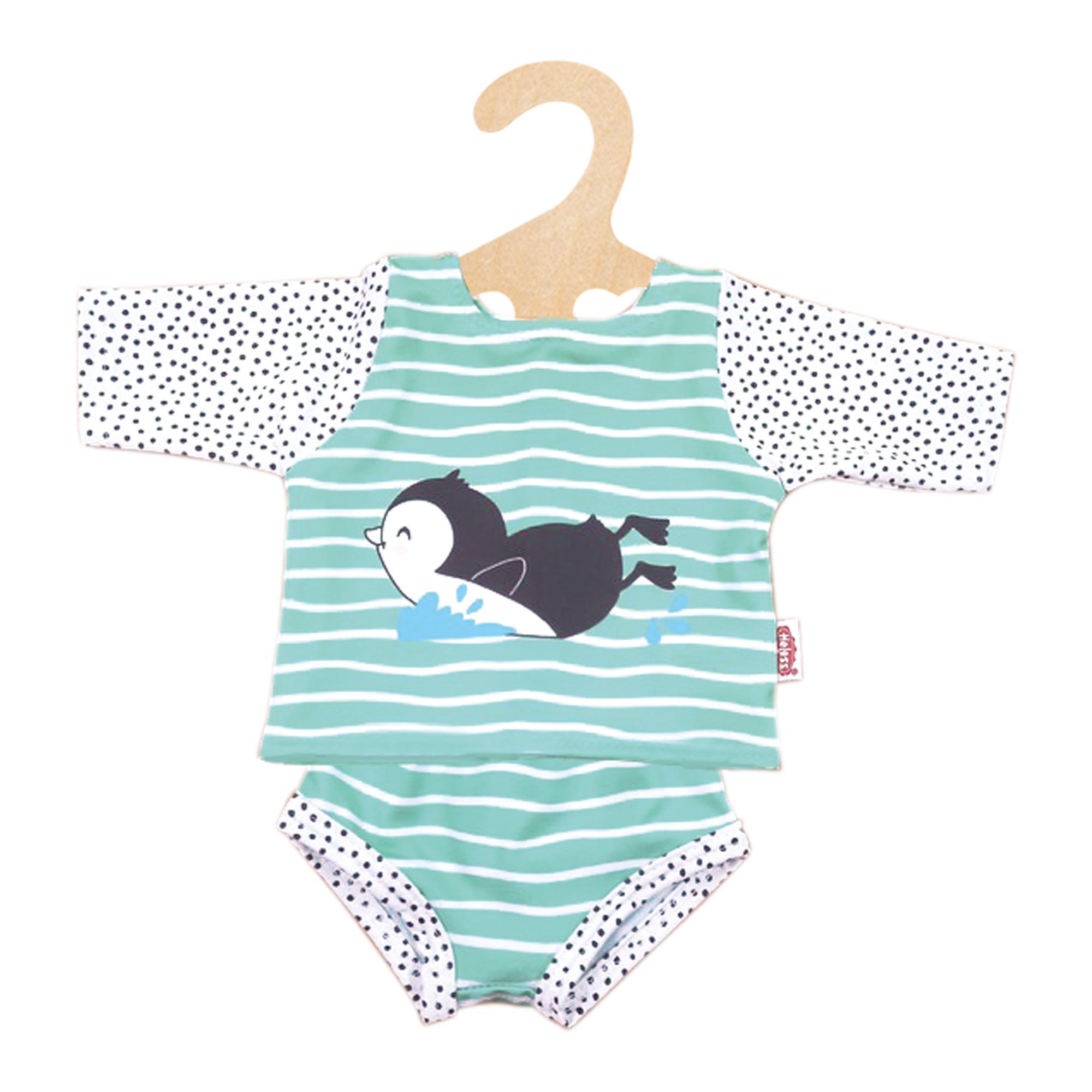 """Schwimm-Outfit """"Pinguin Pünktchen"""", 2-teilig, Gr. 28-35 cm"""