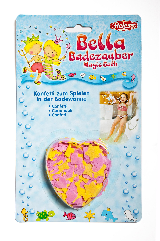 Konfetti für die Badewanne