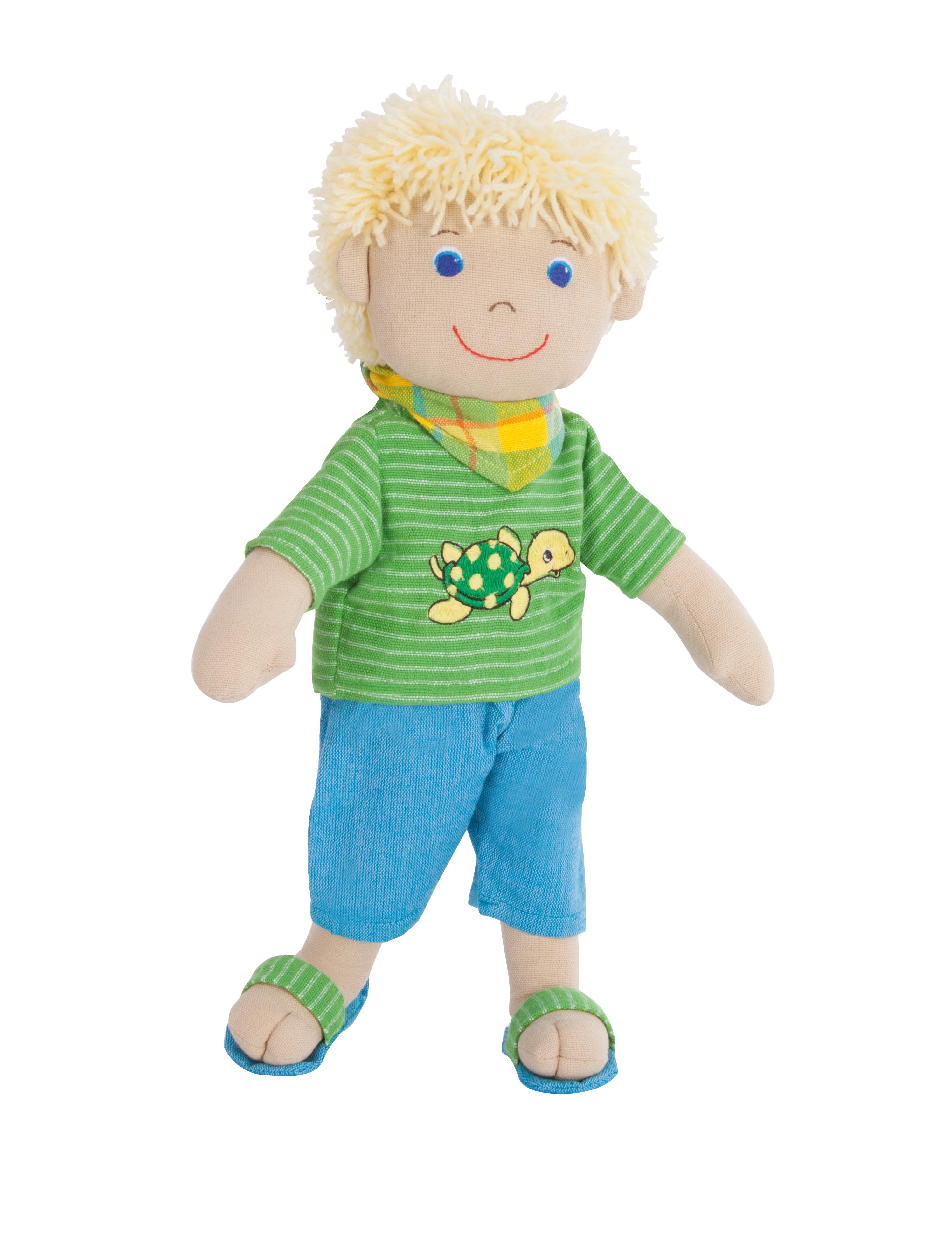 "Fair Trade Puppe ""Max"", 32 cm"