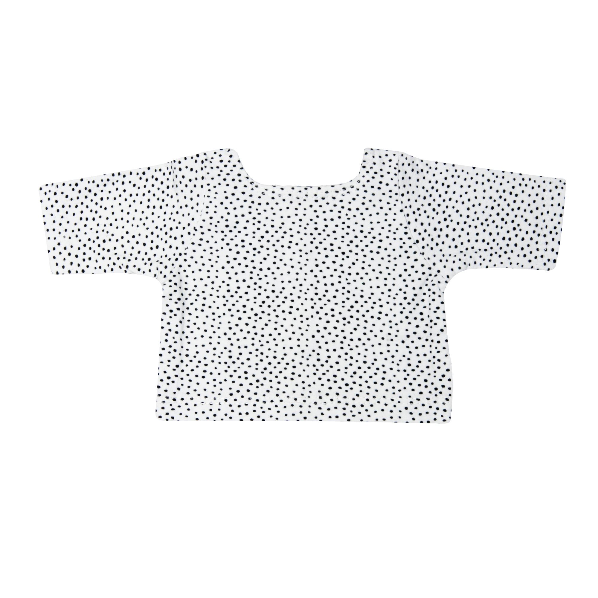 """Strampler mit T-Shirt """"Pinguin Pünktchen"""", Gr. 35-45 cm"""