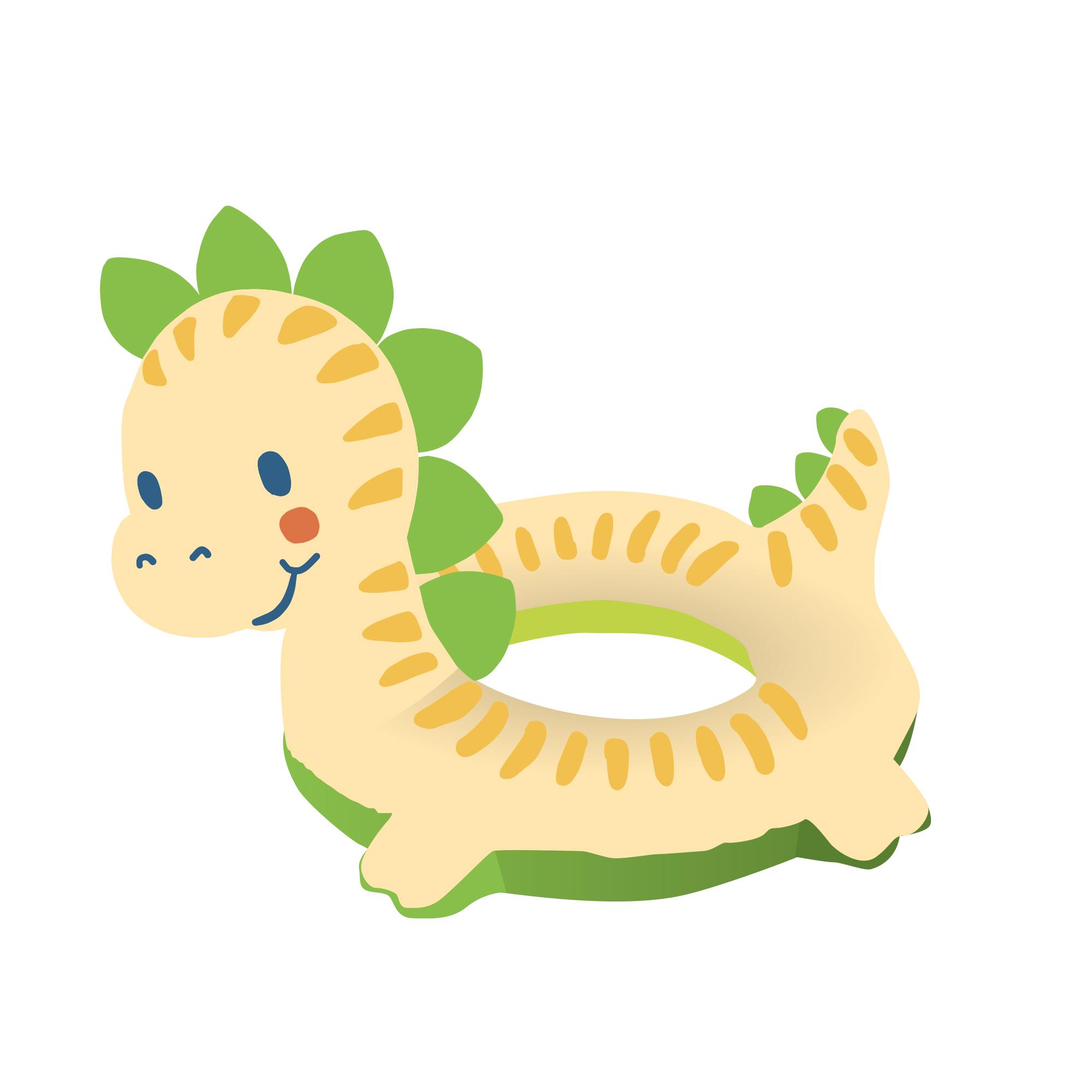 Dino-Schwimmset, Gr. 35-45 cm
