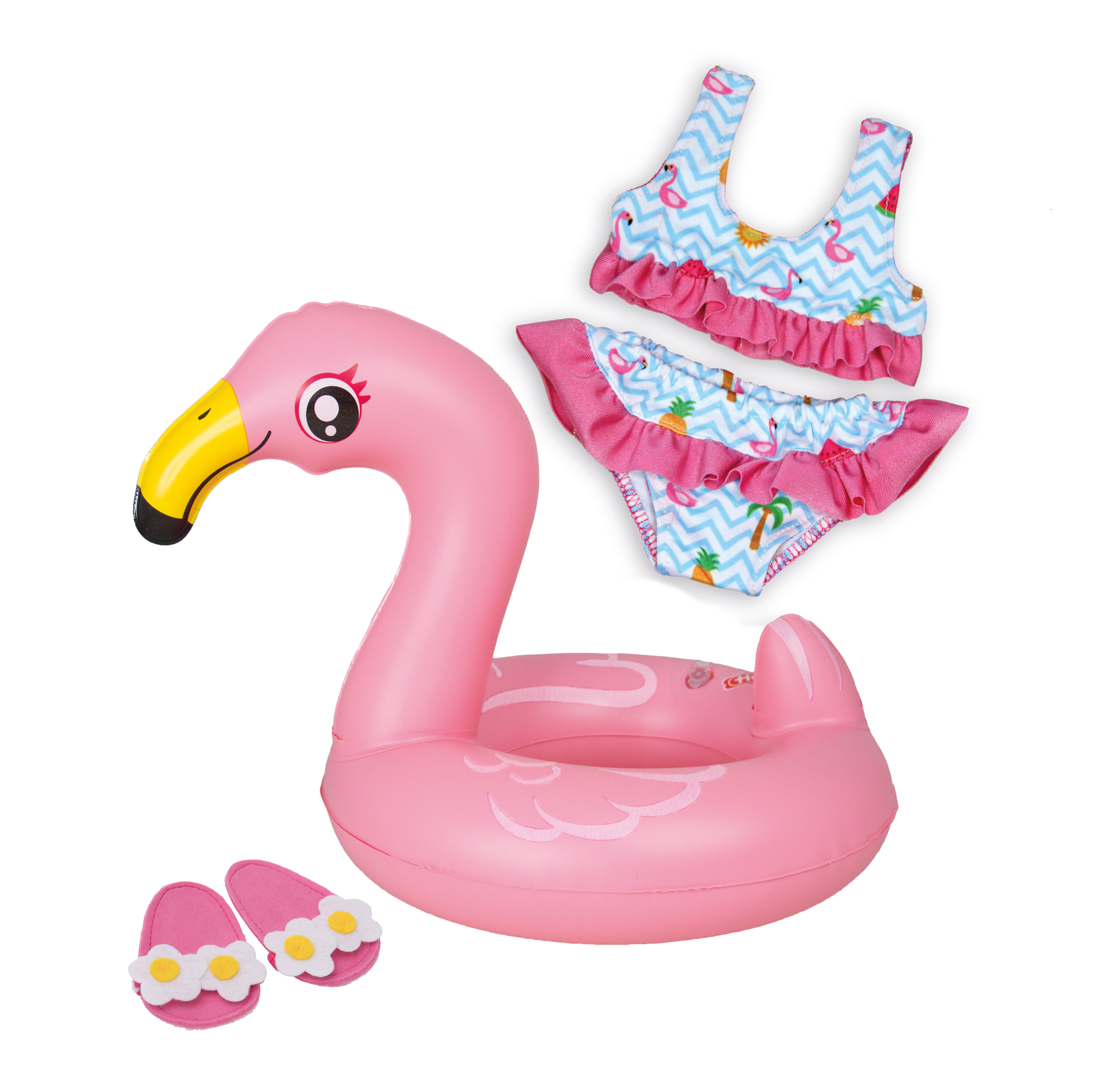 """Flamingo-Schwimmset """"Ella"""", Gr. 35-45 cm"""