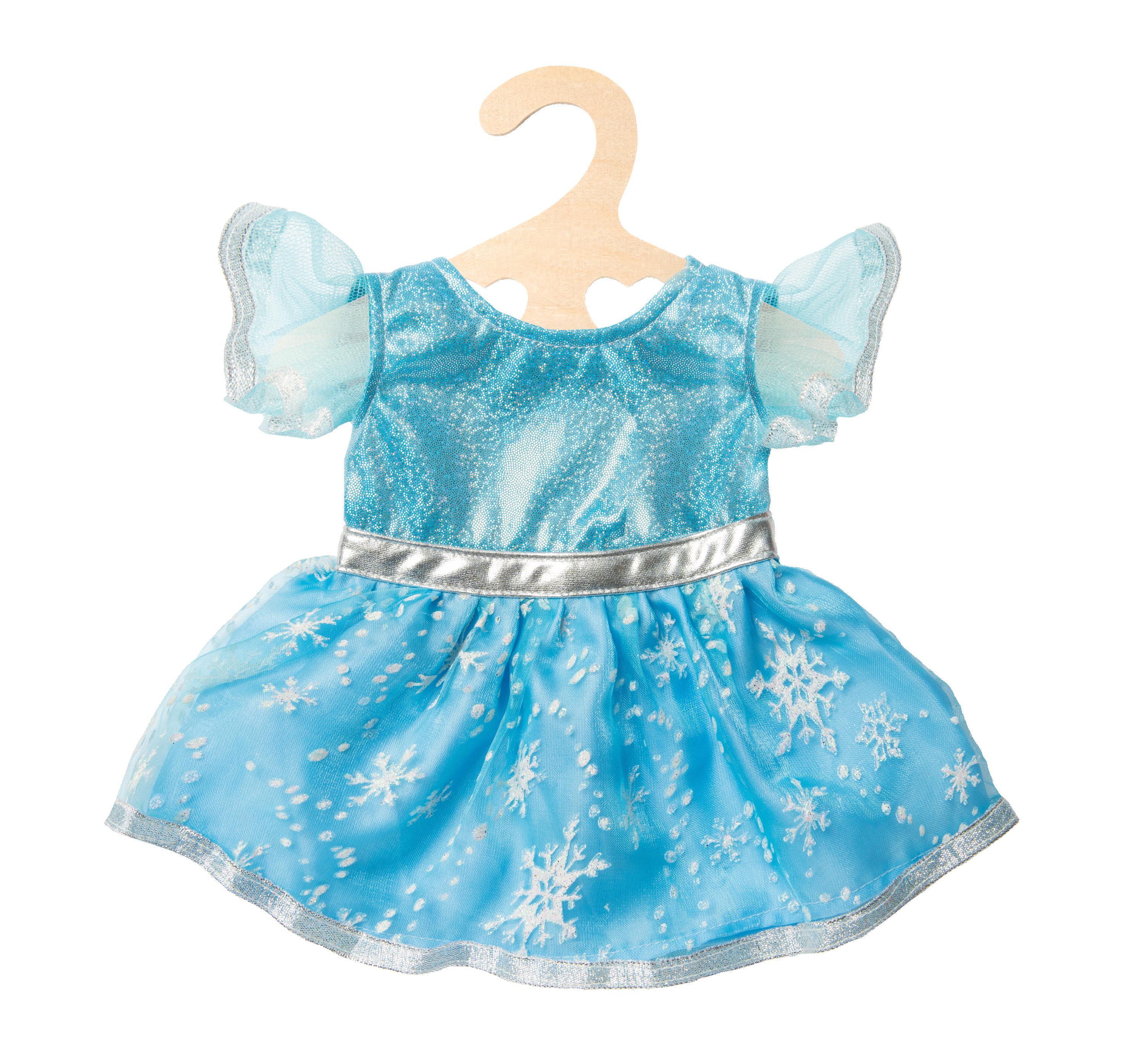 """Kleid """"Eisprinzessin"""", Gr. 35-45 cm"""