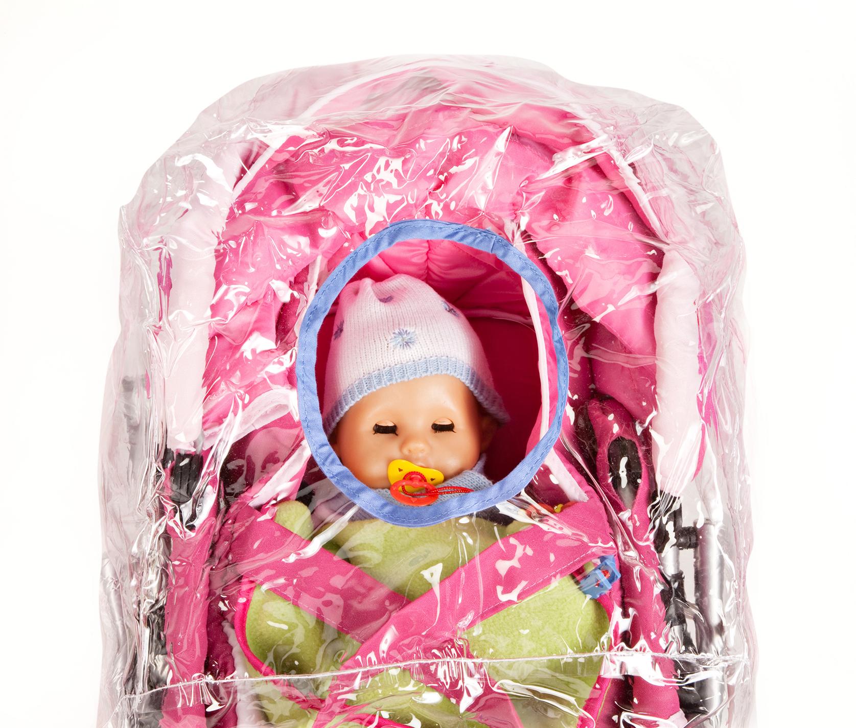 Regenschutz für den Puppenwagen