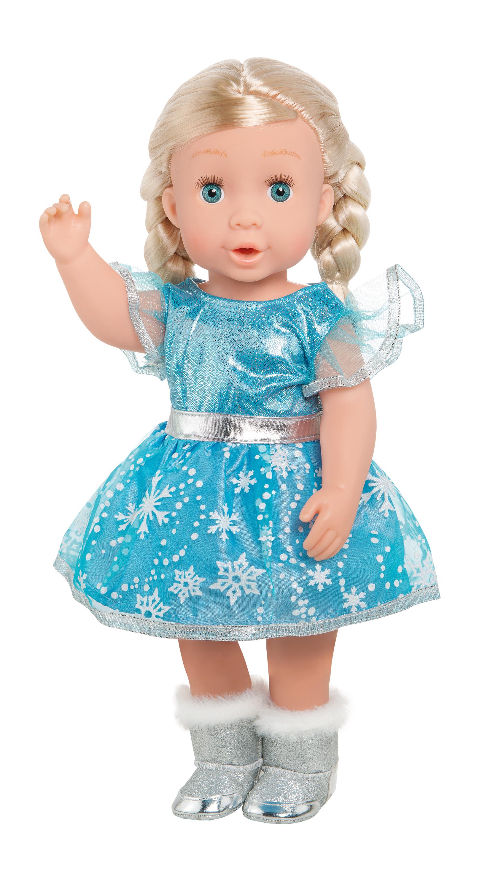 """Kleid """"Eisprinzessin"""", Gr. 28-35 cm"""