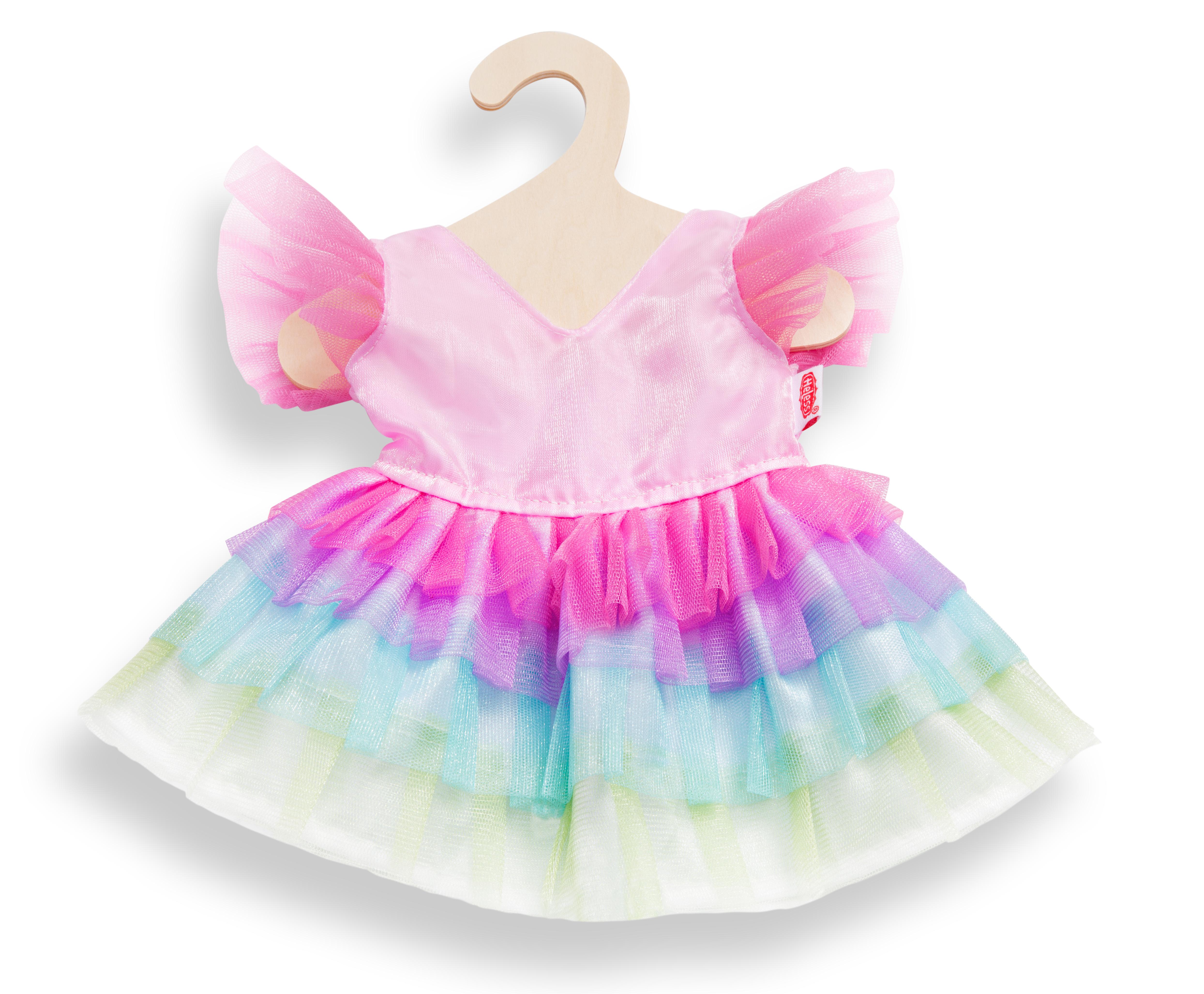 """Kleid """"Regenbogenfee"""", Gr. 35-45 cm"""
