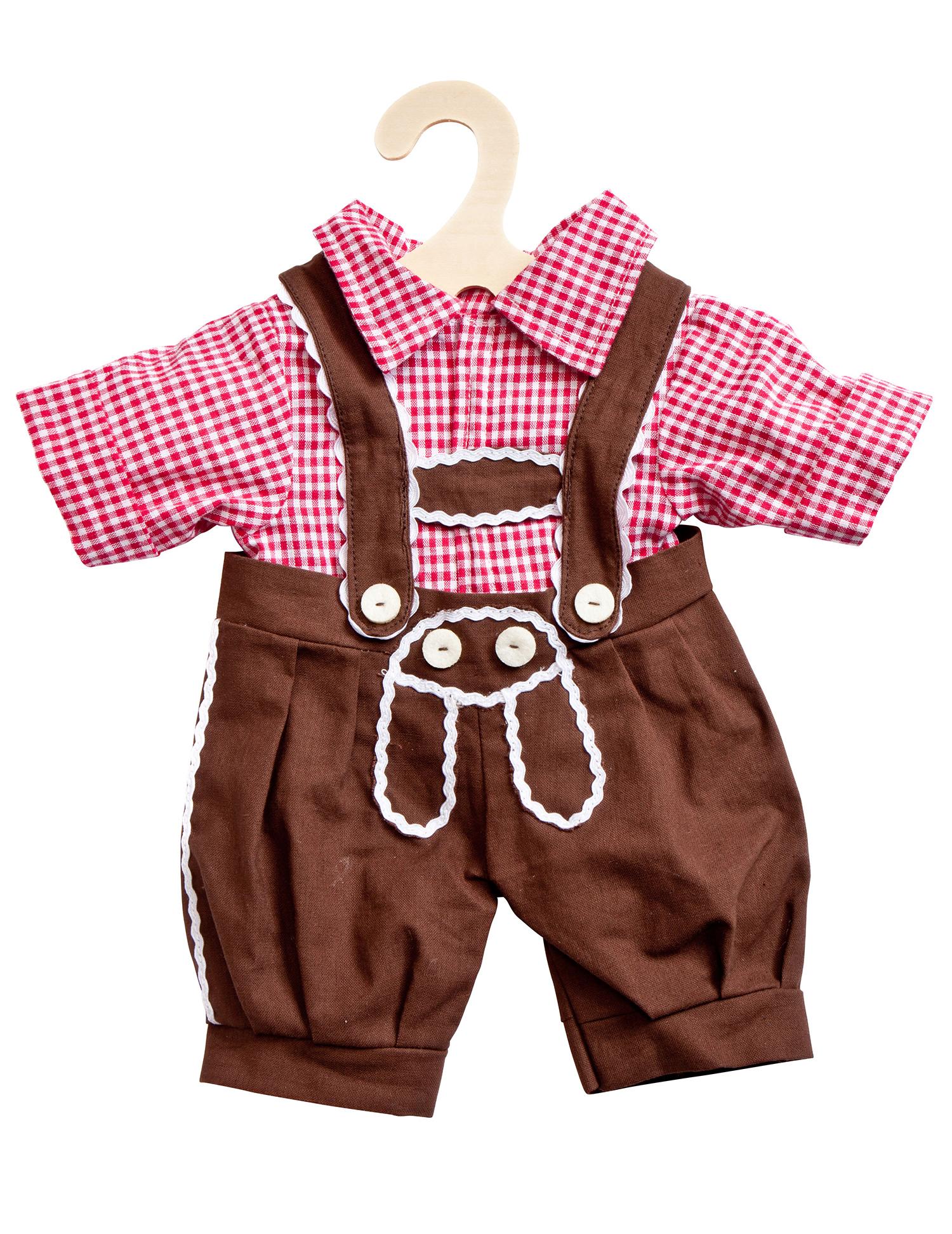 Kniebundhose mit Hemd, Gr. 35-45 cm