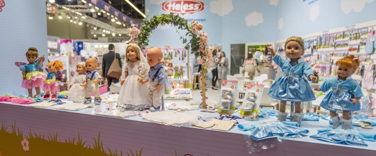 Von der Eisprinzessin zum hippen Bräutigam: Heless präsentiert Neuheiten auf der Spielwarenmesse 2020