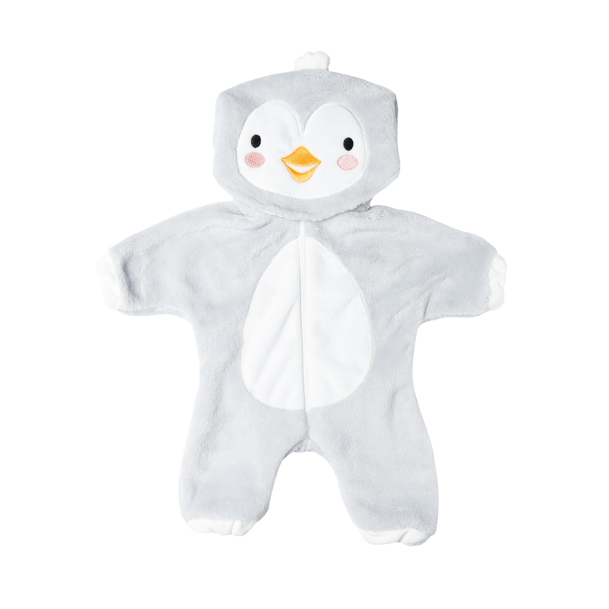 """Puppen-Einteiler """"Baby-Pinguin"""", Gr. 35-45 cm"""